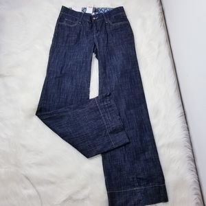 NWT BANANA REPUBLIC Flare Denim Jeans Pants 4-D15
